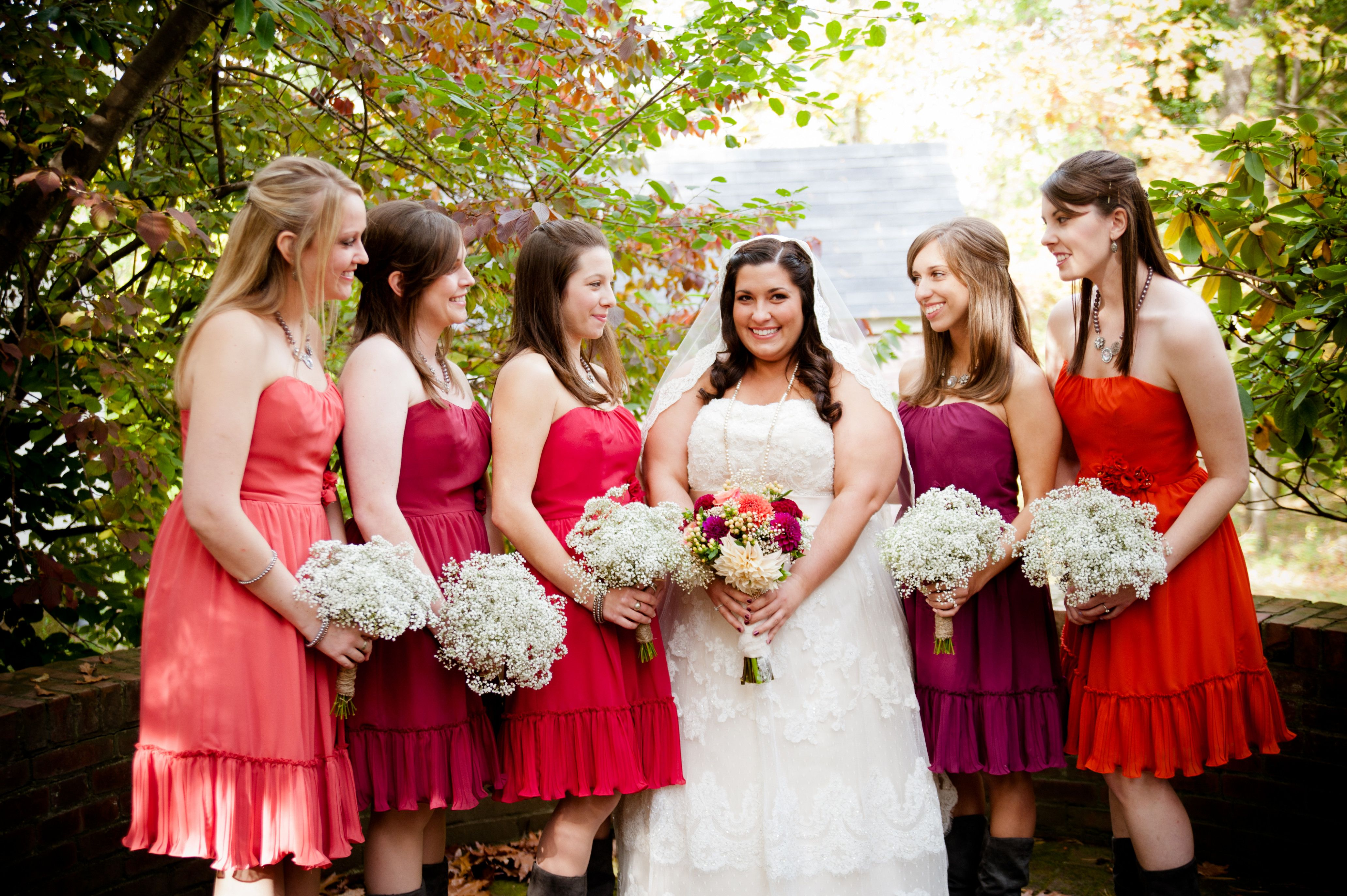 Wedding dresses with cowgirl boots  Orange Bridesmaid Dresses With Cowboy Boots Choice Image
