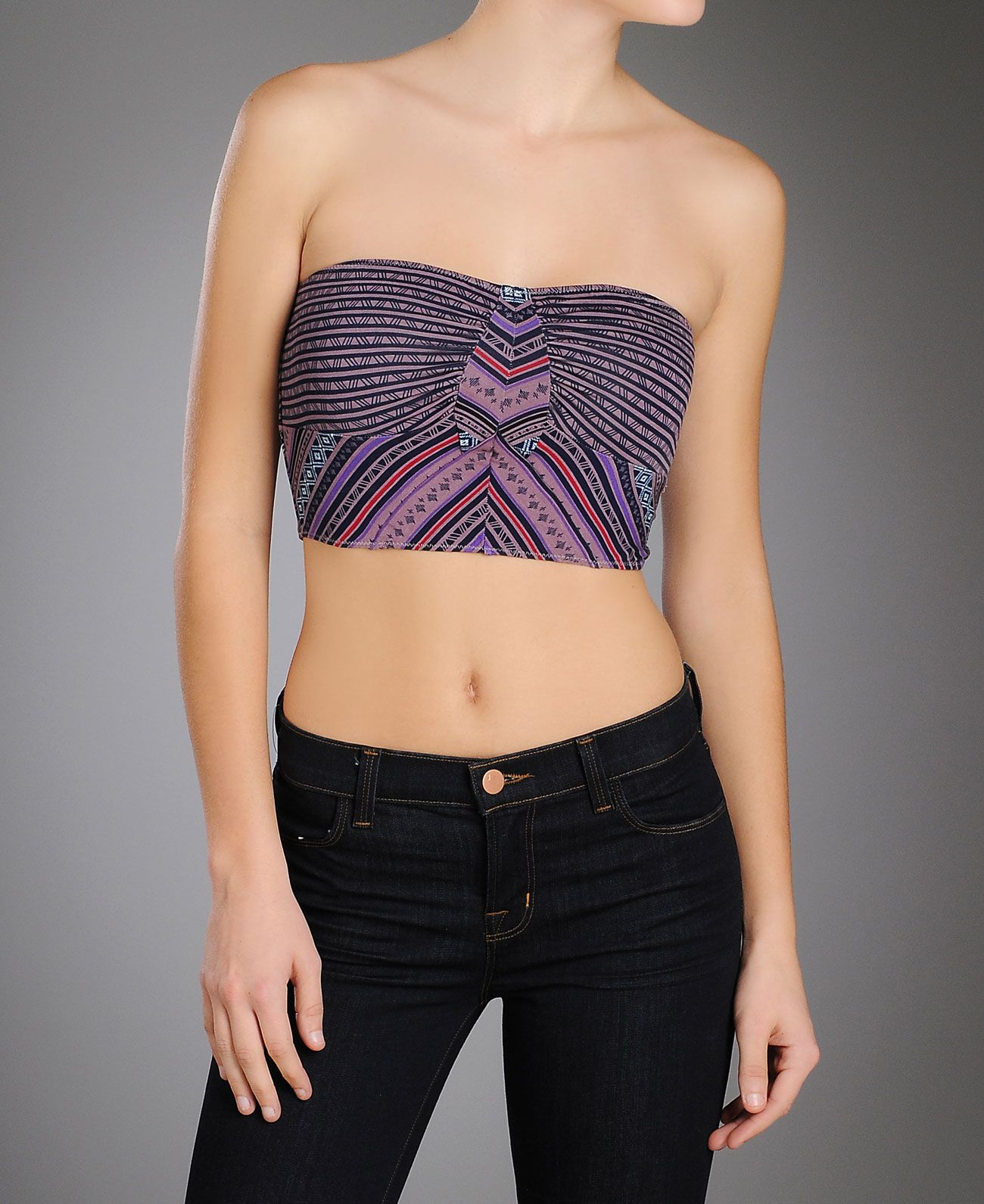 Oh my, need this #FreePeople #Tribal Print Bustier! So cute!