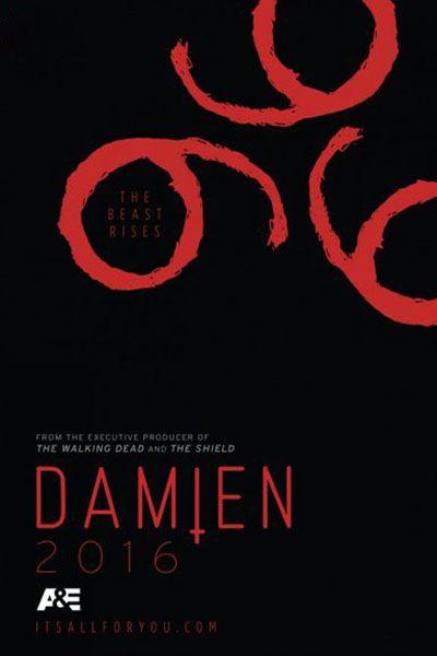 Damien Série Tv 2015 Allociné Filmes Etc Pinterest