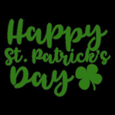 Bundle Clover Happy Patrick Day Leprechaun Cut Files includes svgdxf file formats Download for Cricut Happy Sains St Patrick SVG