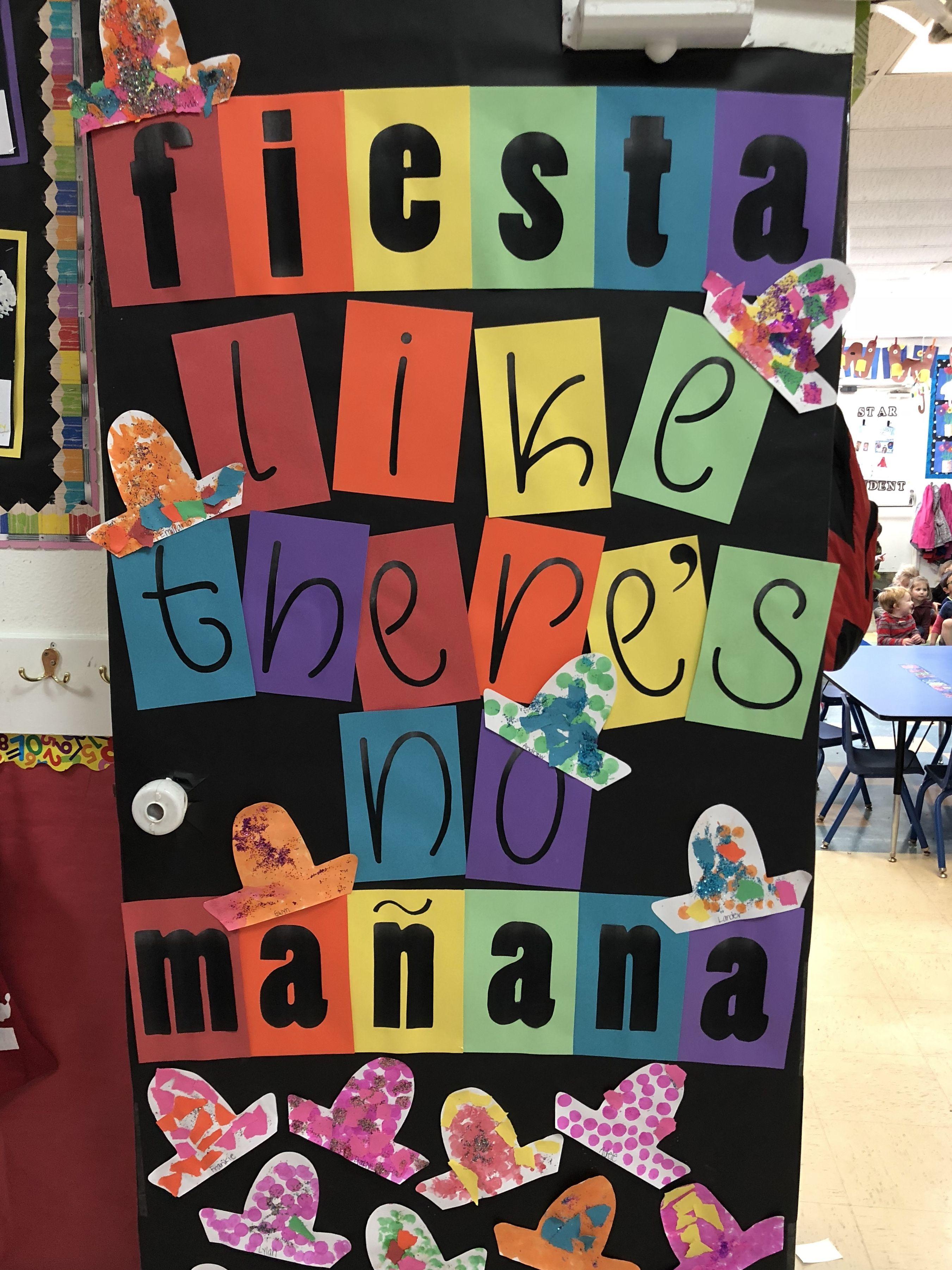 Cinco De Mayo Preschool Door Cincodemayo Preschool