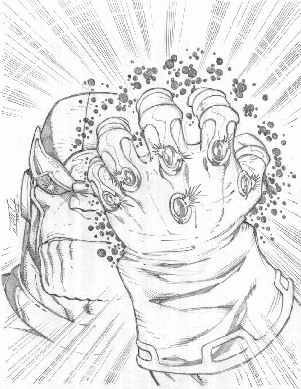 Infinity Gauntlet Coloring Page Fresh Infinity Gauntlet Coloring