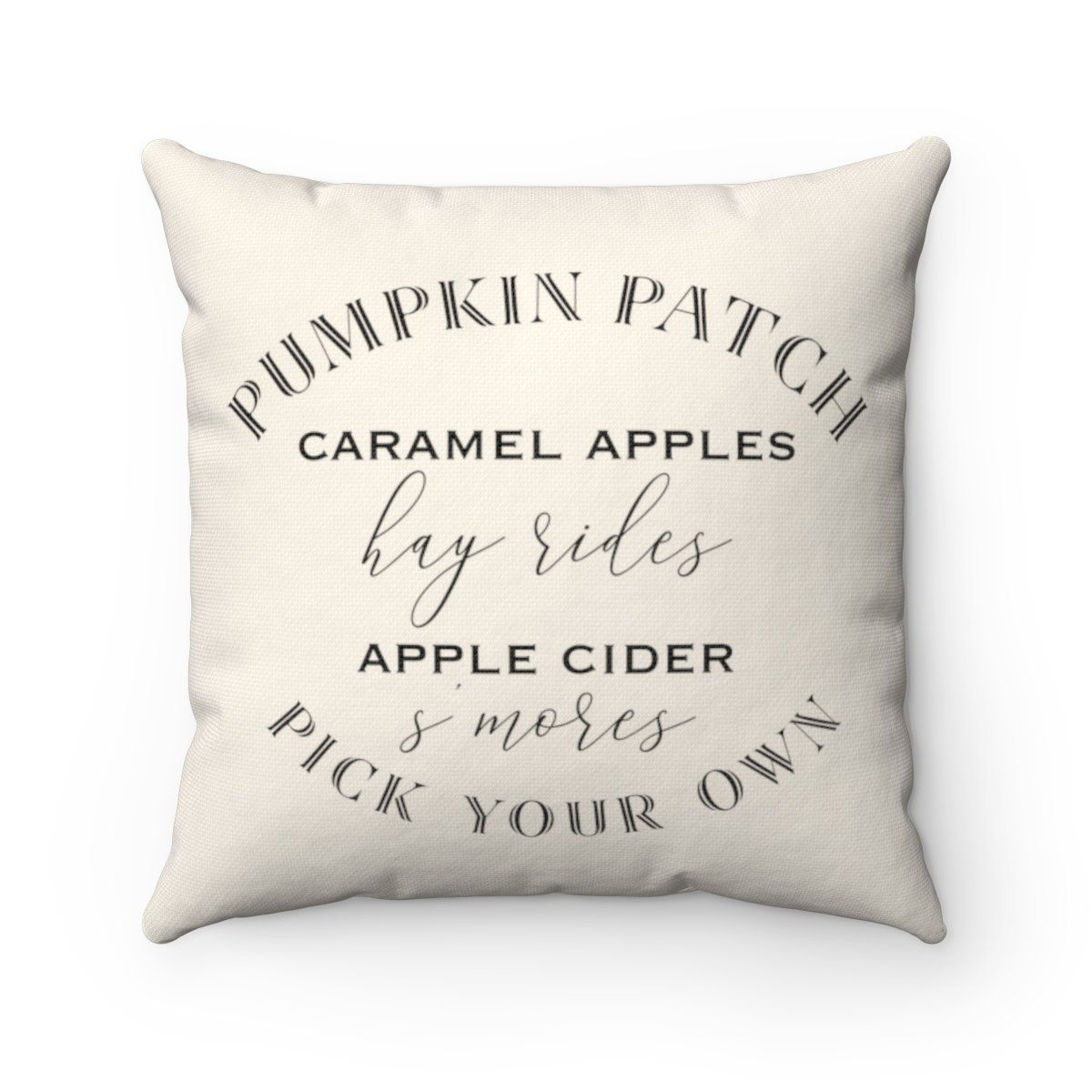 Pumpkin Patch Pillow In 2021 Fall Pillows Patch Pillow Fall Throw Pillows