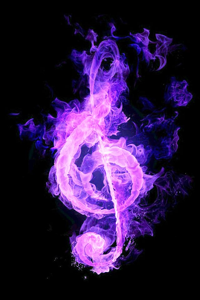 Pretty music note | Music wallpaper, Music notes, Musical art