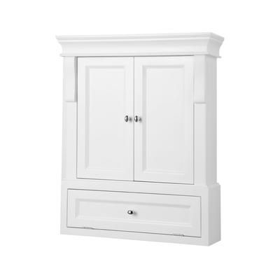 Naples White Wall Cabinet