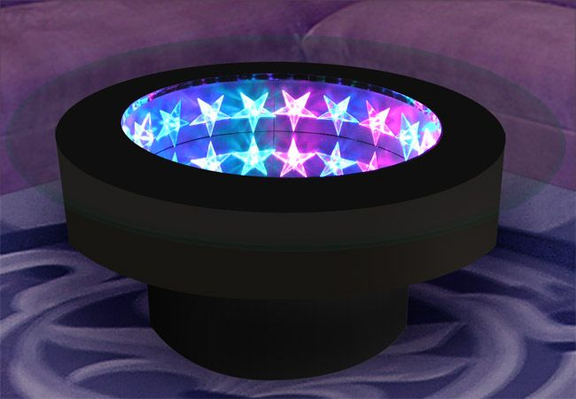 Star Infinity Mirror Table And Wall Display Led Infinity Mirror Infinity Mirror Cool Tables
