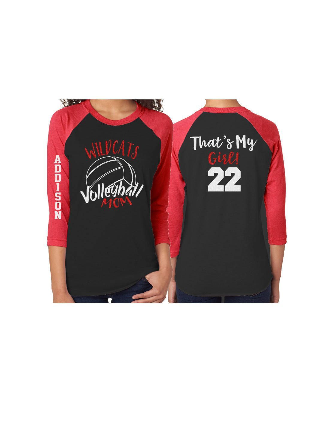 Glitter Volleyball Mom Baseball Shirt Customized Volleyball Shirt By Gavinsallyedesigns On Etsy Volleyball Mom Shirts Volleyball Shirt Designs Volleyball Mom