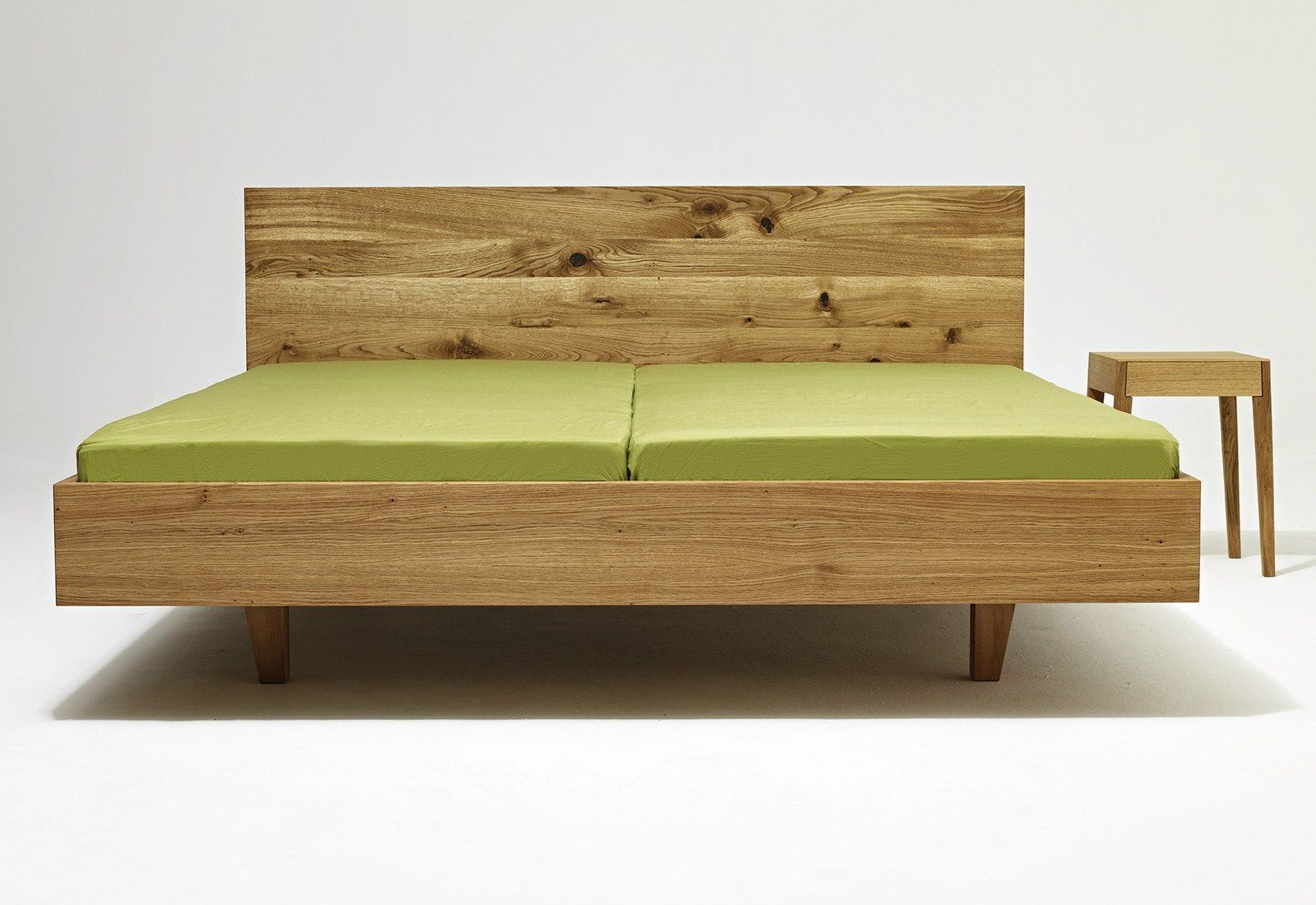 Double bed designs in wood - Contemporary Style Wooden Double Bed Design By Laszlo Szikszai 2014