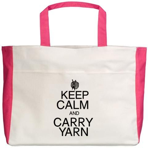 Keep Calm and Carry Yarn.  @Christina & Smith  This made me think of you!
