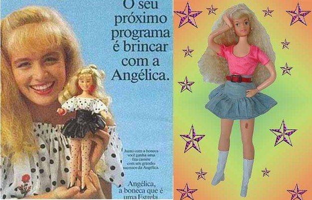 A Angélica, que tinha a famosa pinta na perna.   30 bonecas que você tinha esquecido que fizeram parte da sua infância