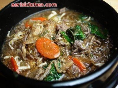 BulGoGi Stew (뚝배기 불고기=TtukBaeGi BulGoGi)