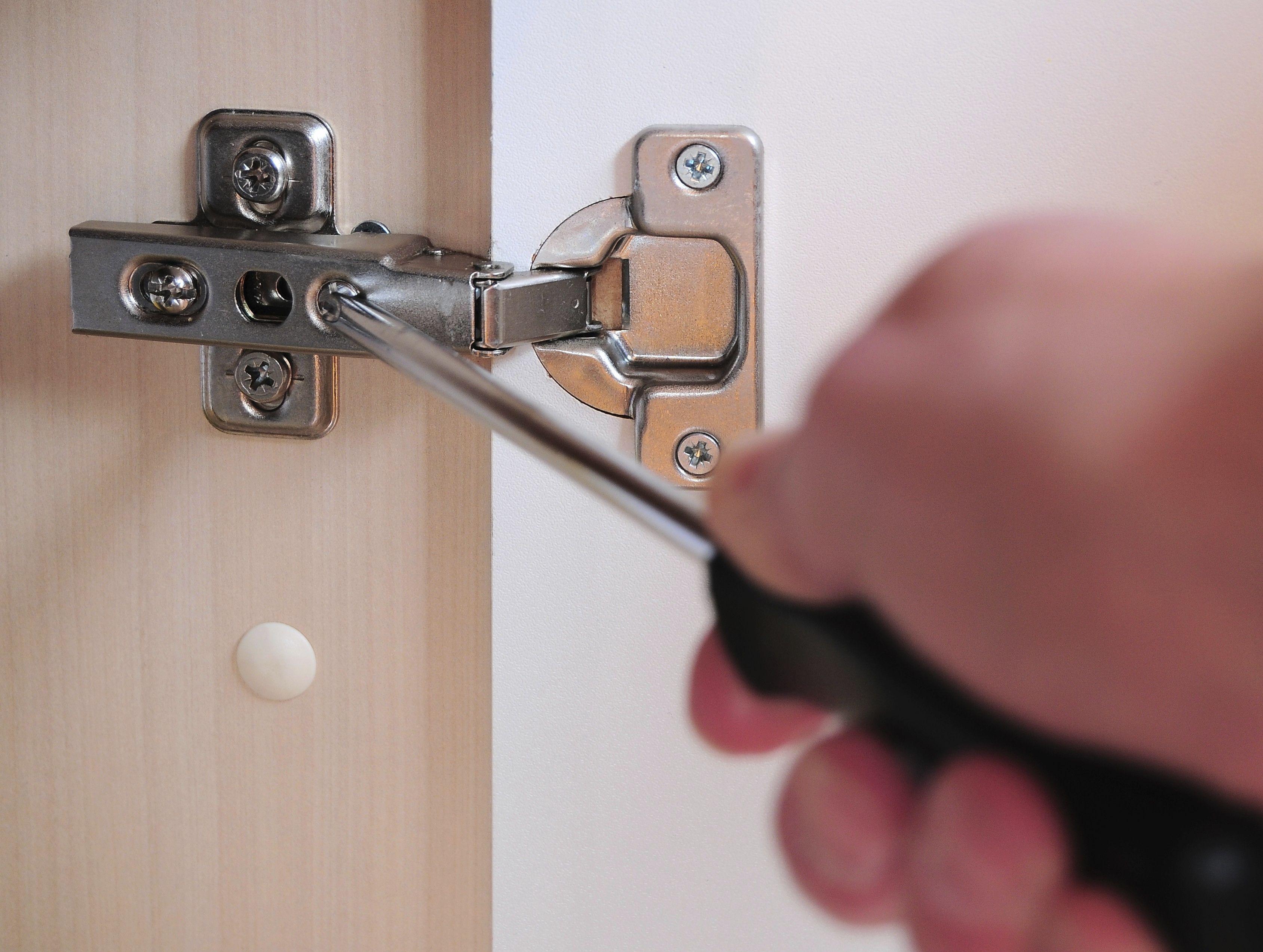How to Adjust Cabinet Doors | Doors and Organizations