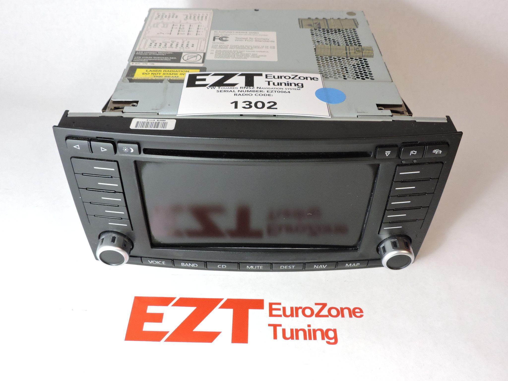 RNS2 Navigation System (VW Touareg 2004-2008)   Products