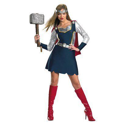 Women's Thor Girl Classic Costume -target