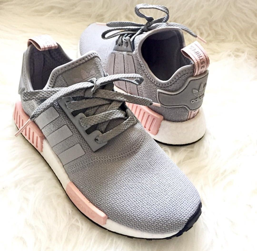 adidas Originals NMD in grey-pink/grau-rosa // Photo by ...