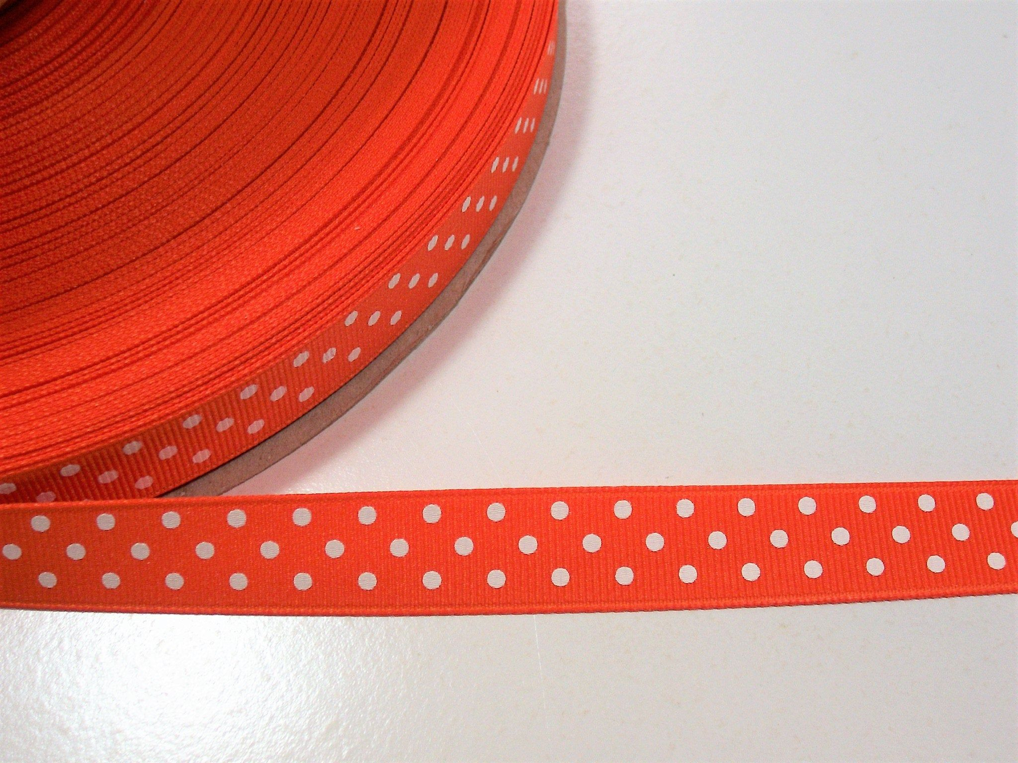 "5 Yds SALE Eye Candy Polka Dot Wired Ribbon 1 1//2/""W"
