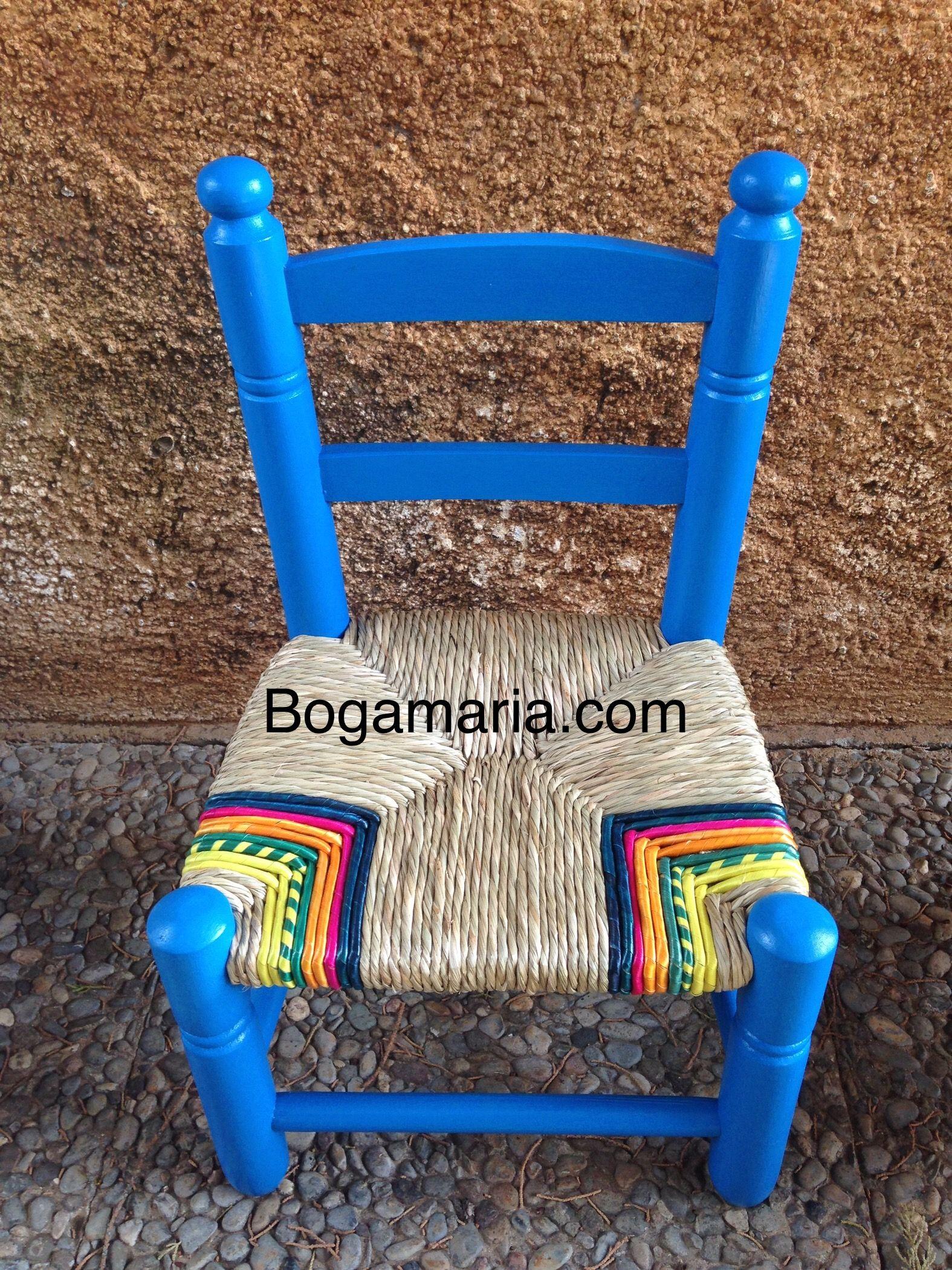 weaving chair straw silla enea infantil rempaillage chaise
