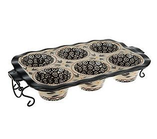 Temp Tations Old World Texas Muffin Pan W Wire Rack Qvc