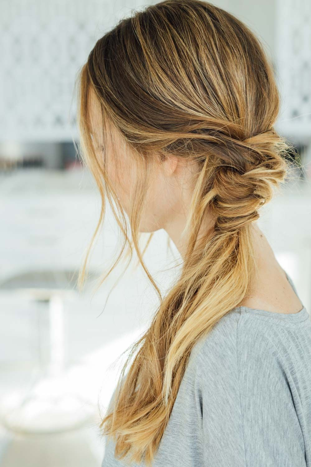 16 Easy Hairstyles for Hot Summer Days | Easy hairstyles, Messy ...