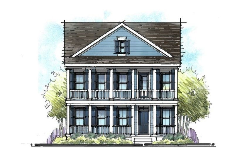 Blue Vinyl Siding Is Perfect For A Low Country Style Home Siding Colors