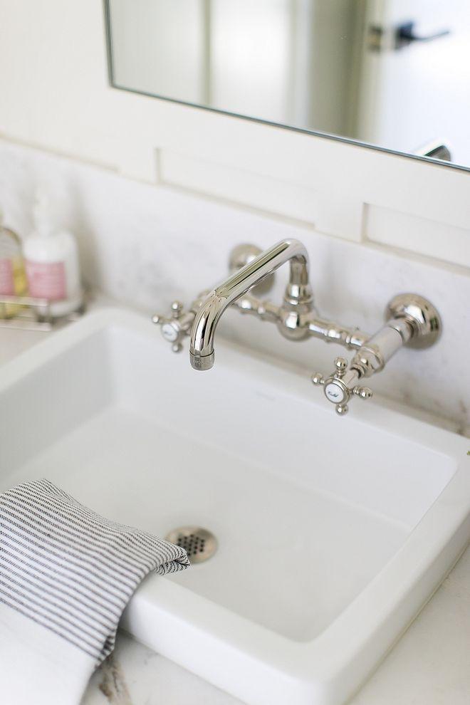 Wall Mounted Bathroom Faucet Polished Nickel Source On Home Bunch Wall Mounted Bathroom Faucet Polished Nickel Wallmountedbathroomfau With Images Wall Mount Faucet Bathroom
