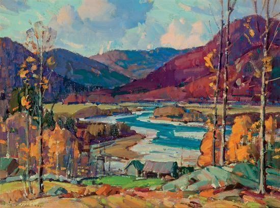 Aldro T. Hibbard - Jamaica, West River Valley,...