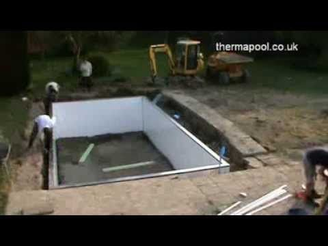 Swimming Pool Building By Thermapool Thermawall The