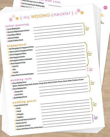 we ve got 2 dozen checklists that will make planning your