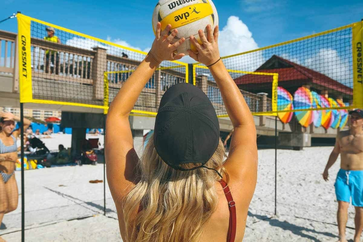 A Blast To Play Anywhere Don T Miss To Try Volleyball Games Volleyball Pictures Volleyball