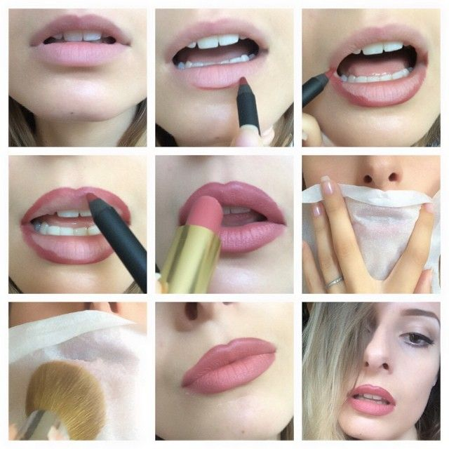 Lip contouring #makeup #tutorial #evatornadoblog