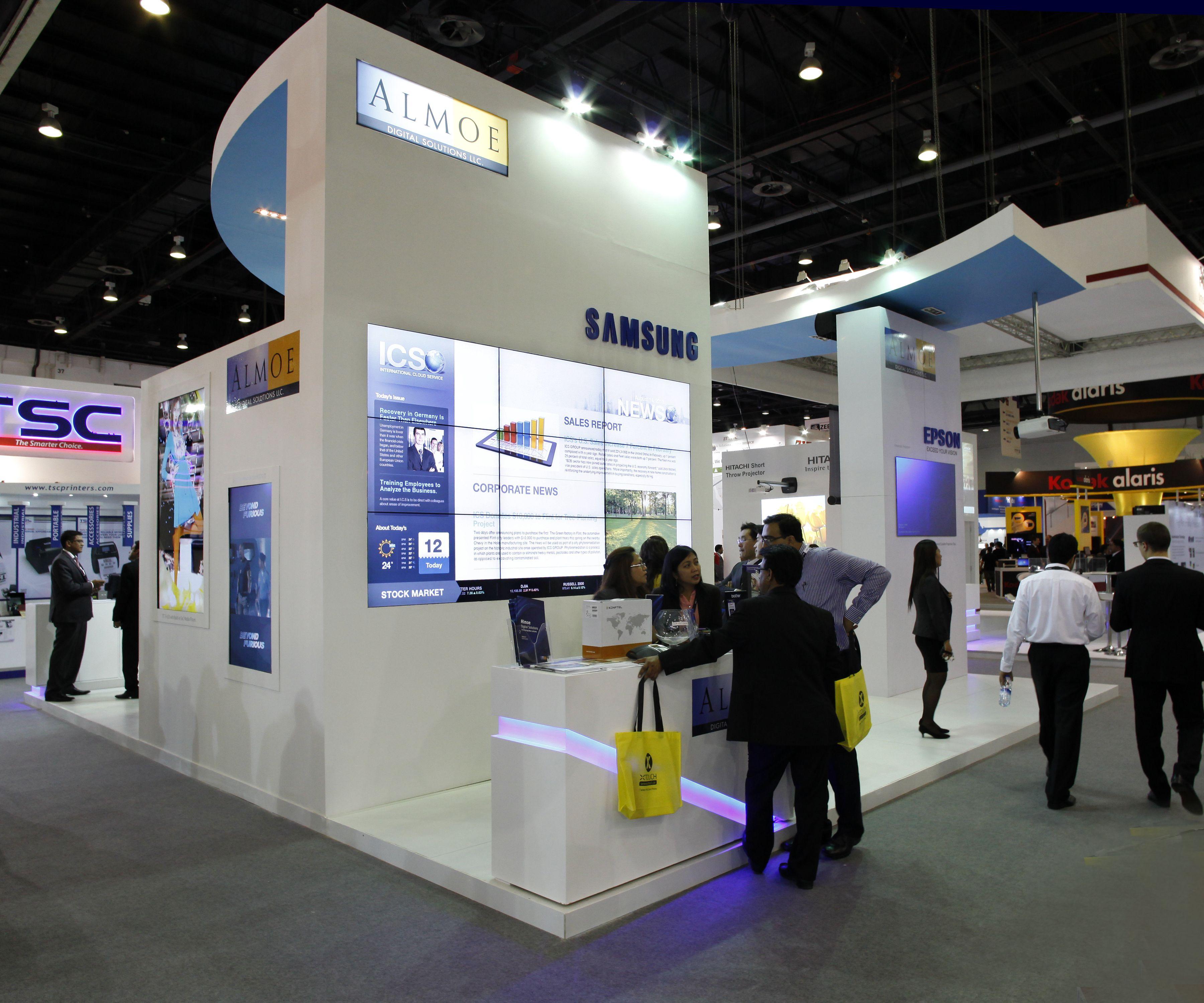D Exhibition In Dubai : Almoe at gitex dubai world trade centre