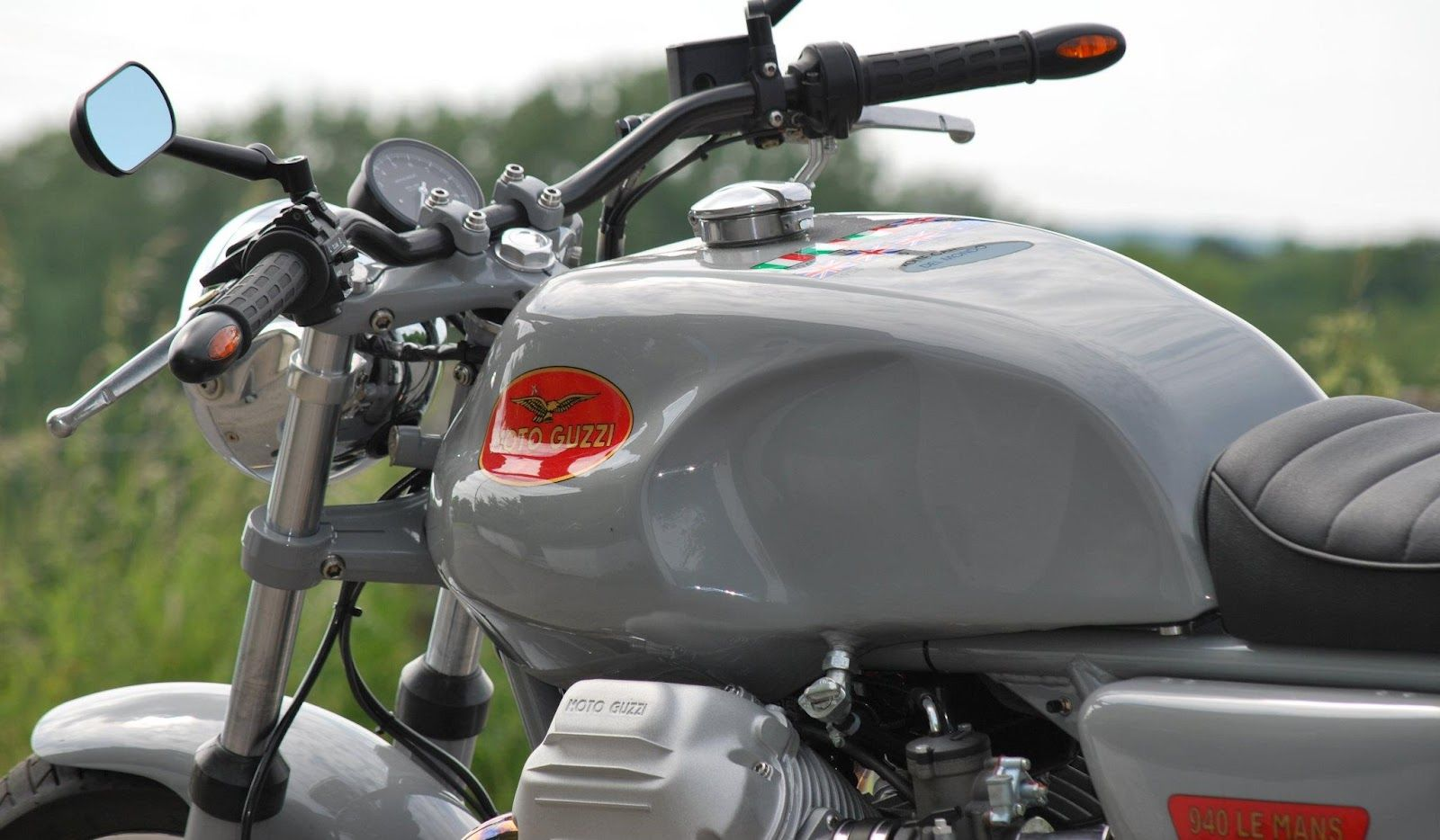 "Moto Guzzi LM 1040 ""The grey one"" by HTMoto"