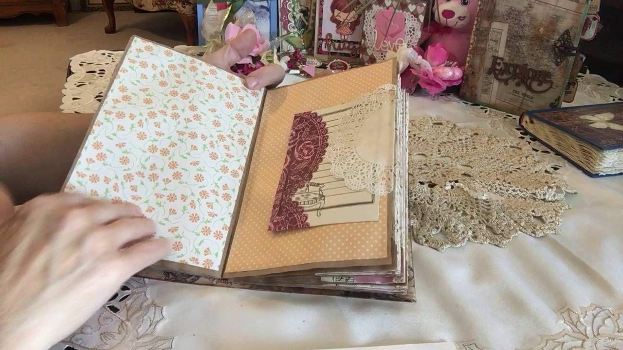 # Envelope Junk Journal made with Kraft paper sheets
