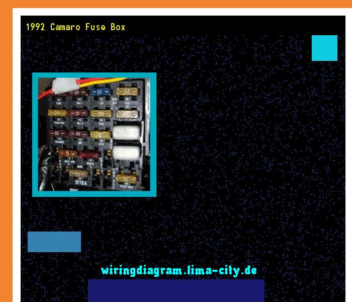 1992 Camaro Fuse Box Wiring Diagram 185949 Amazing Wiring Diagram Collection Fuse Box Camaro Box
