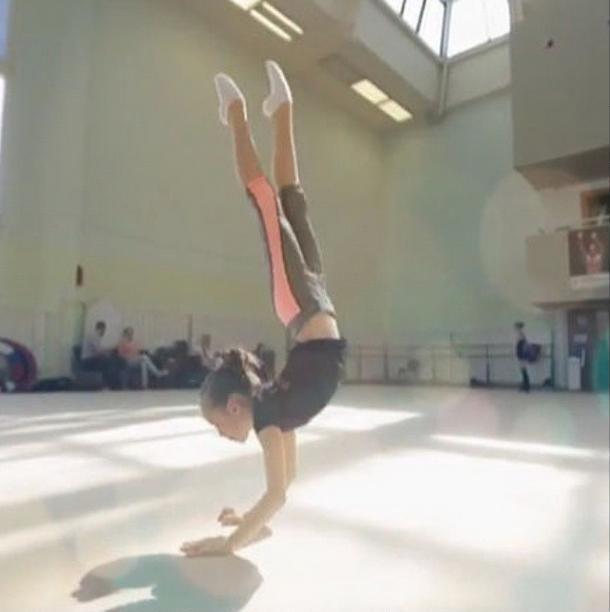 Kristina #gymnast