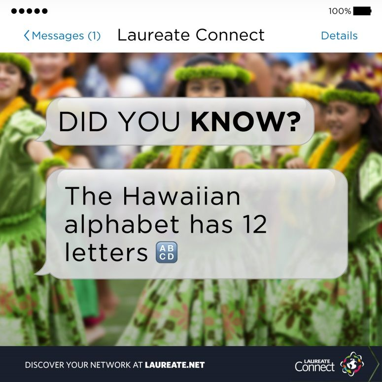 Can you tell us which letters they are? #DidYouKnow #Laureate