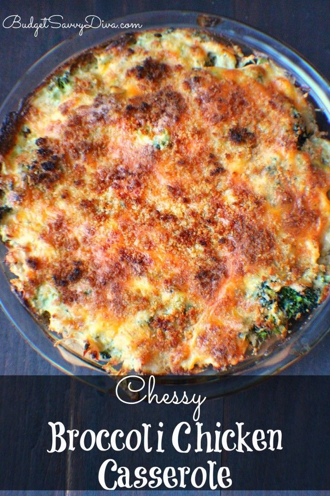 Chessy Broccoli Chicken Casserole  Recipe  Paleo - Low -8762