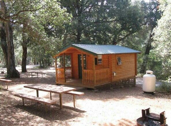Cabin In State Park San Diego County County Park Cabin Camping San Diego Living