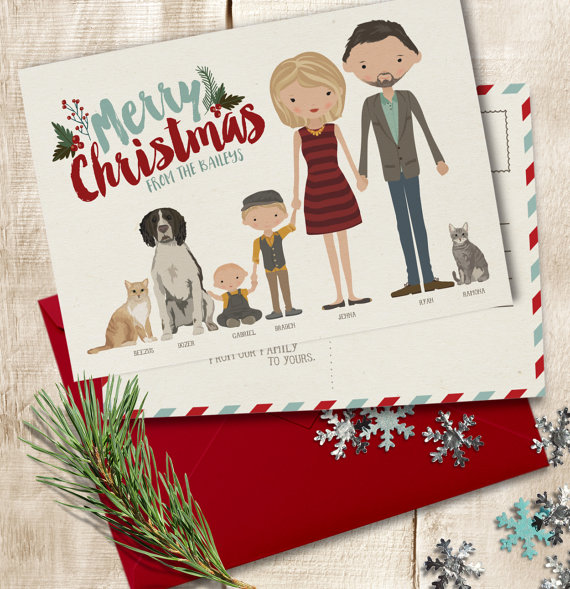 Custom Holiday Cards Christmas Card Custom Photo Holiday Cards Unique Christmas Cards Christmas Photo Card Personalized Holiday Cards