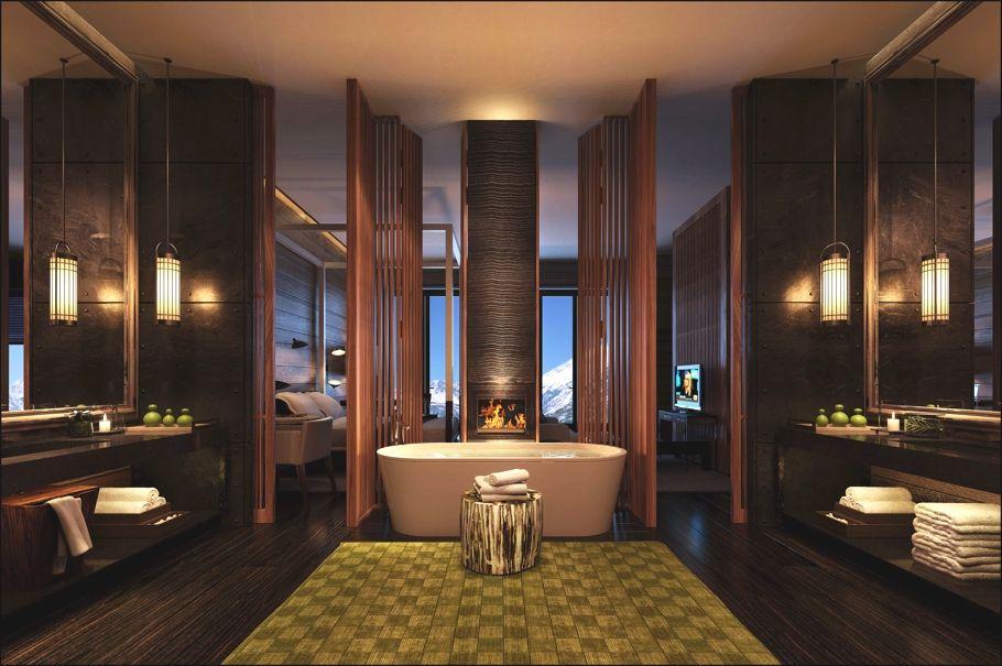 The chedi andermatt switzerland shower space for Design hotel 1690