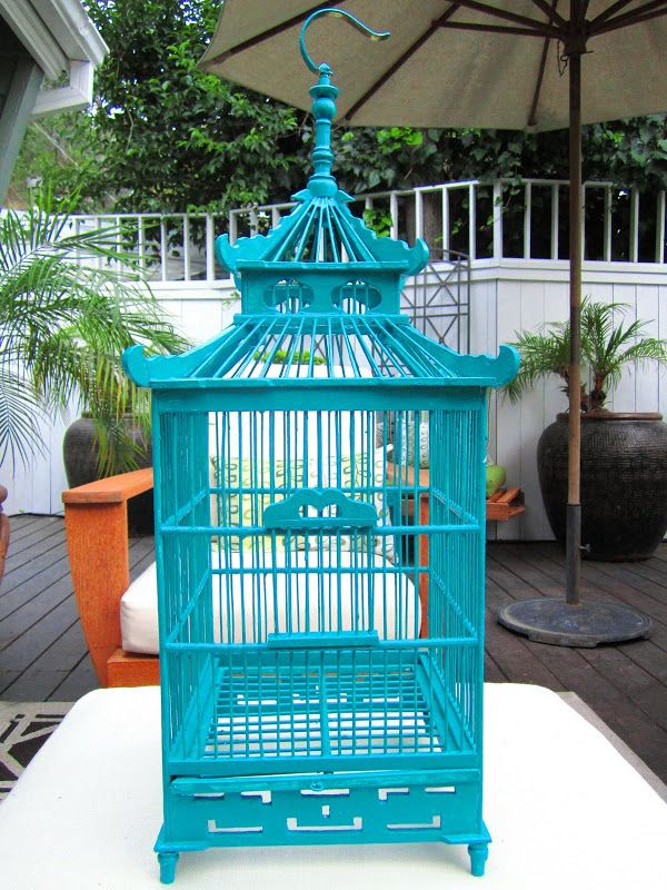 COCOCOZY: A DECORATIVE PAGODA STYLE BIRD CAGE   MY NEW HOME DECOR OBSESSION!