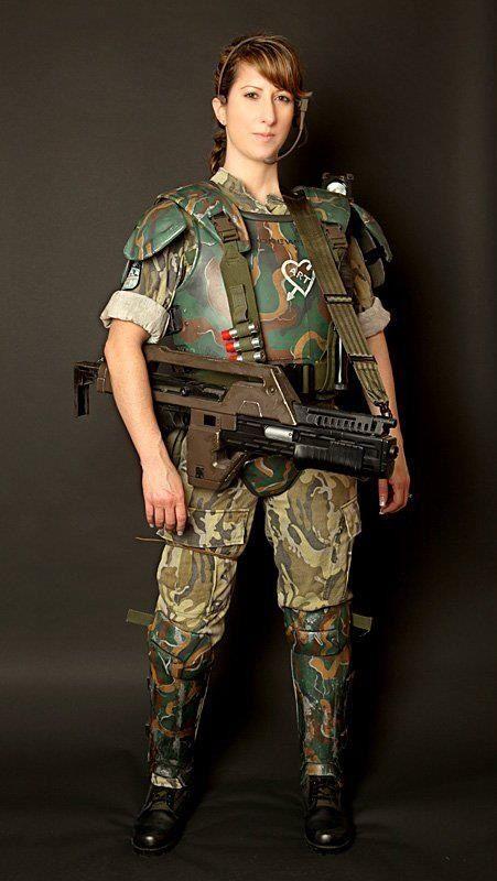 Aliens US Colonial Marines Ripley Ellen Cosplay Costume Prop ComicCon Christmas