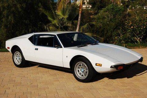 Bat Exclusive 22k Mile 1972 De Tomaso Pantera Pantera Car Luxury Cars Europe Car