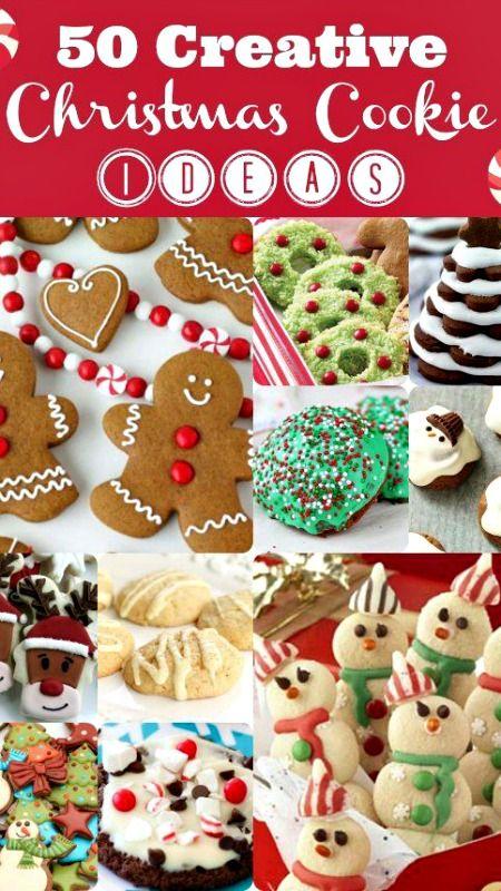 Creative Christmas Cookie Ideas - 50 Yummy Ideas!! Christmas