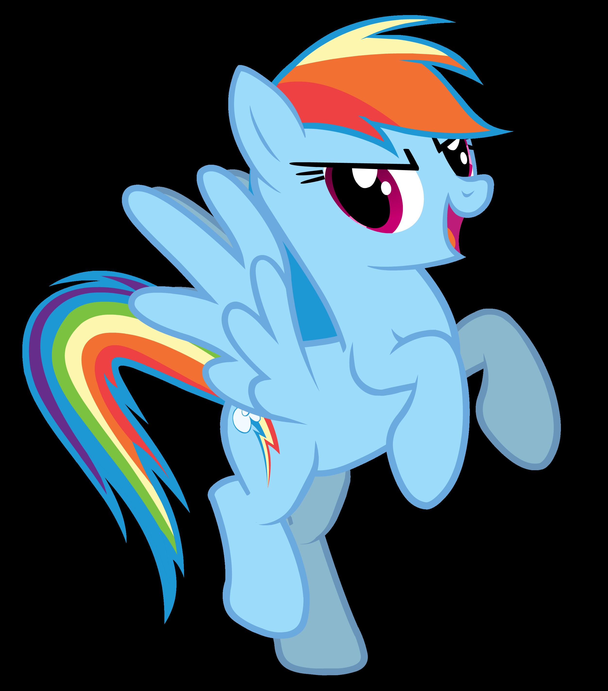 Mlp Rainbow Dash The Ferrarri Logo Pose Dibujos Fotos Mi
