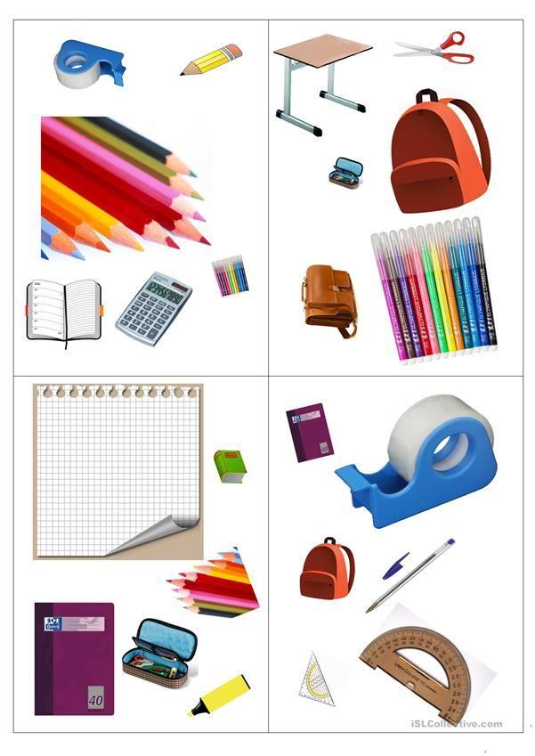Doppelt gemoppelt Schulsachen Blatt 1 und2 | Meine Schulsachen, in ...