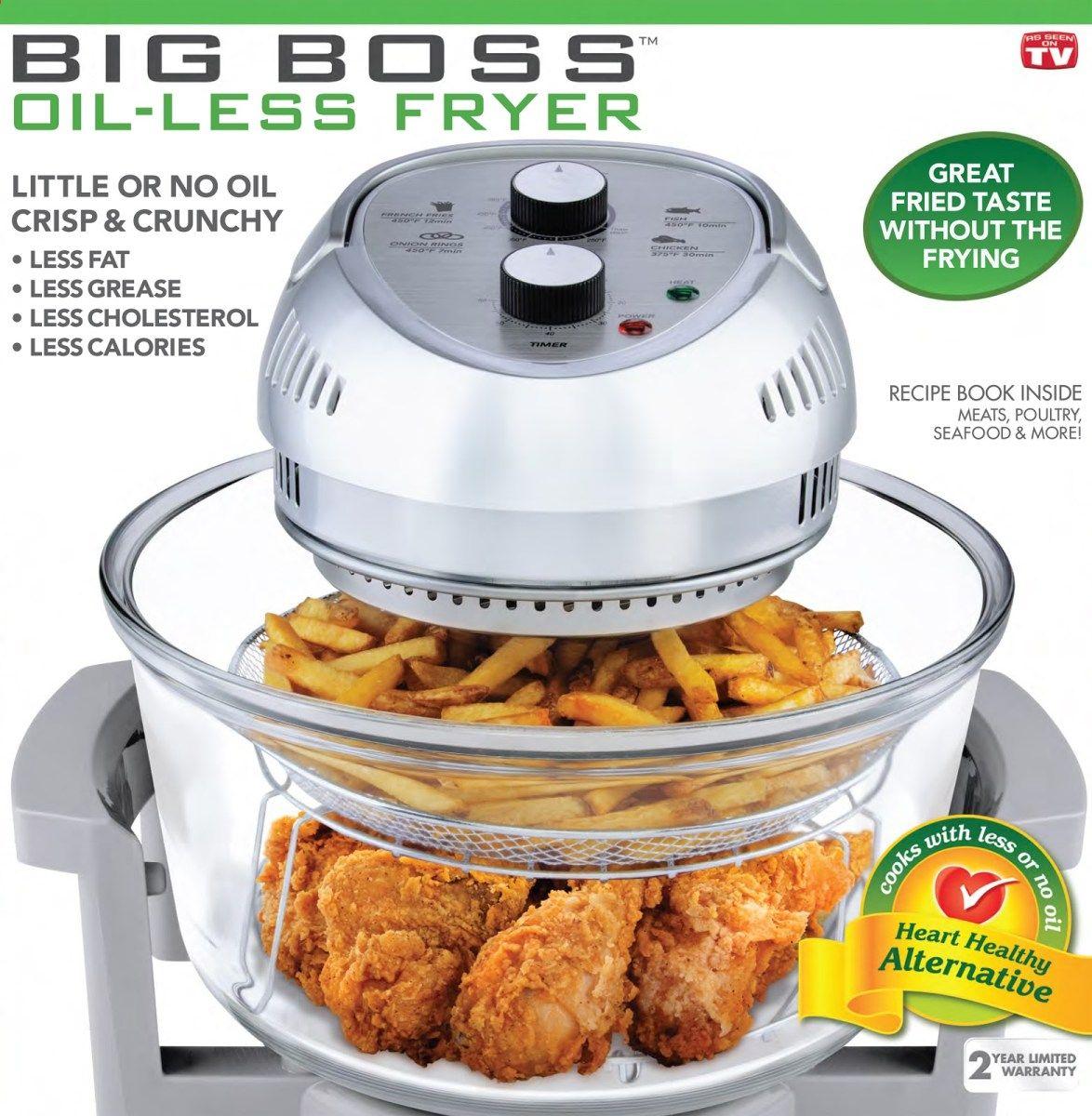 Big Boss Oil Less Fryer Manual Recipes Air Fryer Recipes Healthy Cooking