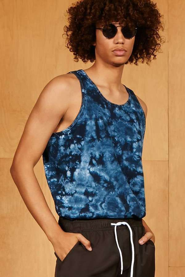 08fa0658dfb855 21men 21 MEN JetBang Acid Wash Tank Top