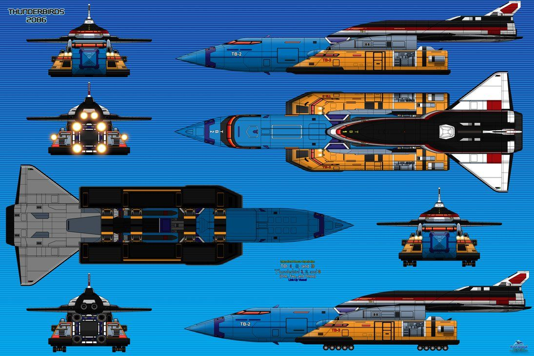 thunderbird 2086 - Google Search