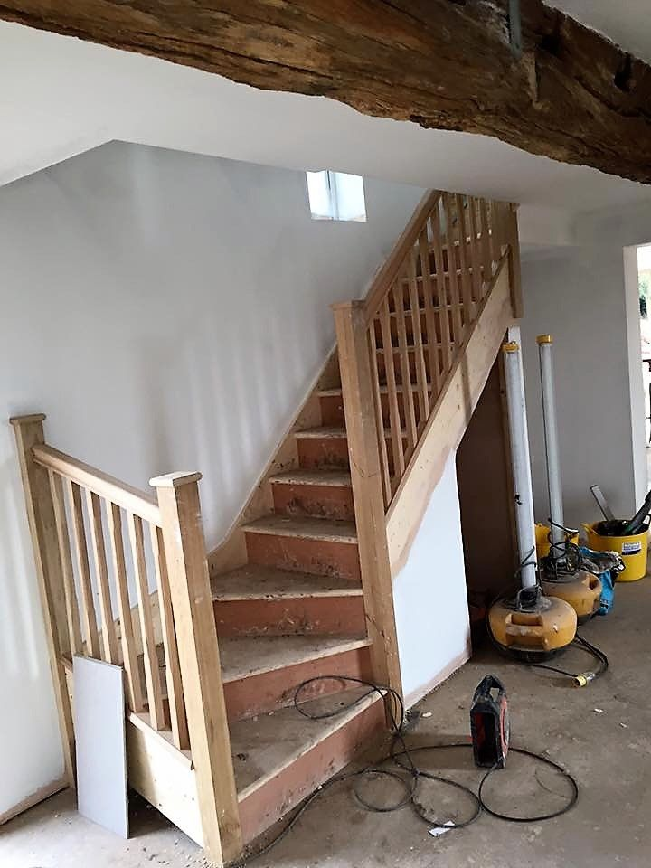 One Of Our Recent Single Winder Staircases Supplied By Shaw Stairs